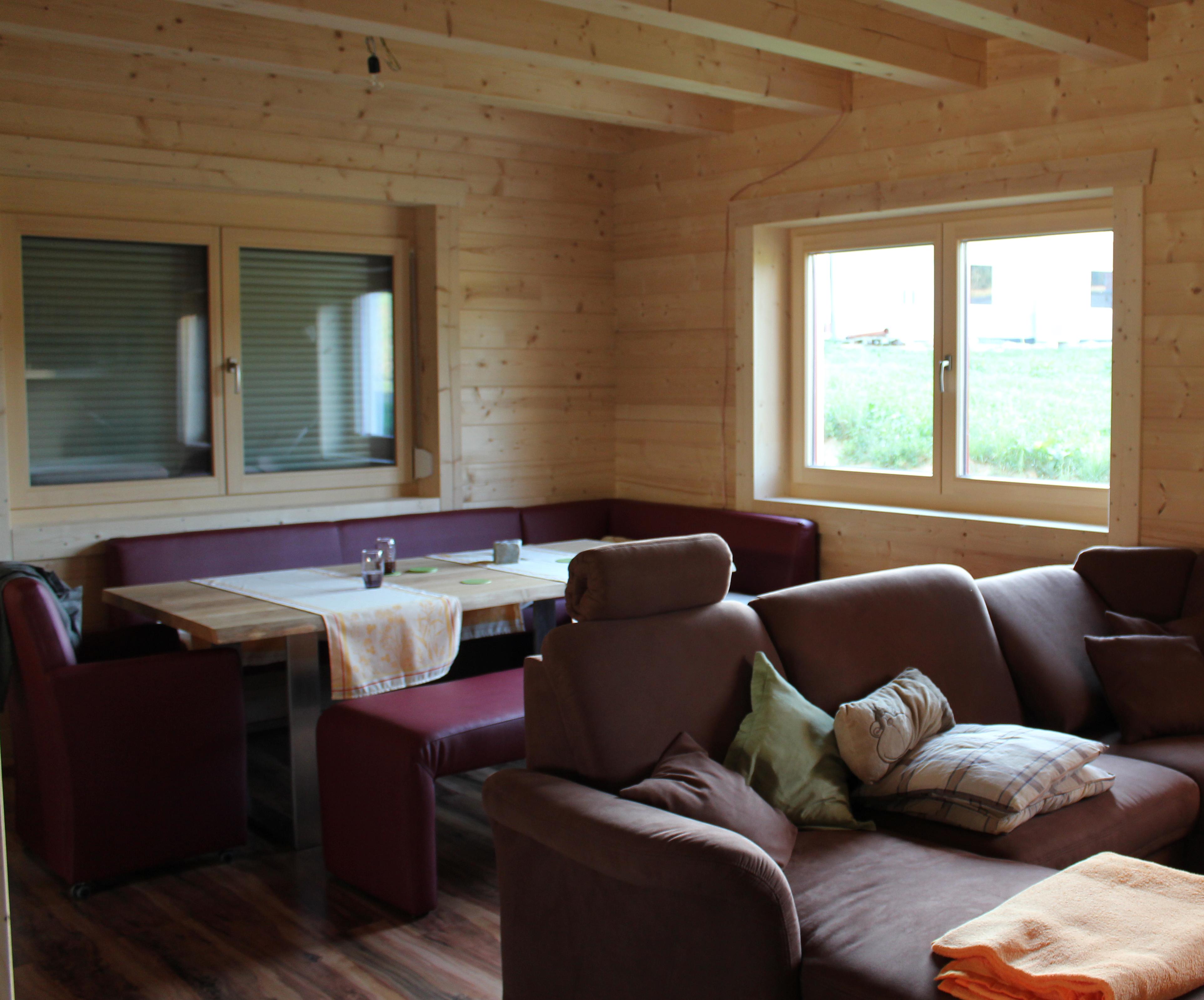 Blockhausimpressionen Das Wohnzimmer Scandinavian Bloghaus