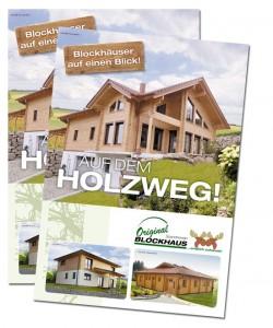 Messefolder Scandinavian Blockhaus