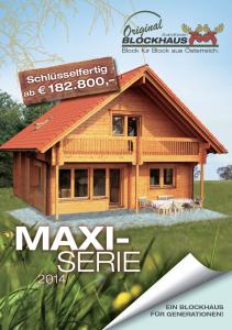 maxi-serie scandinavian blockhaus