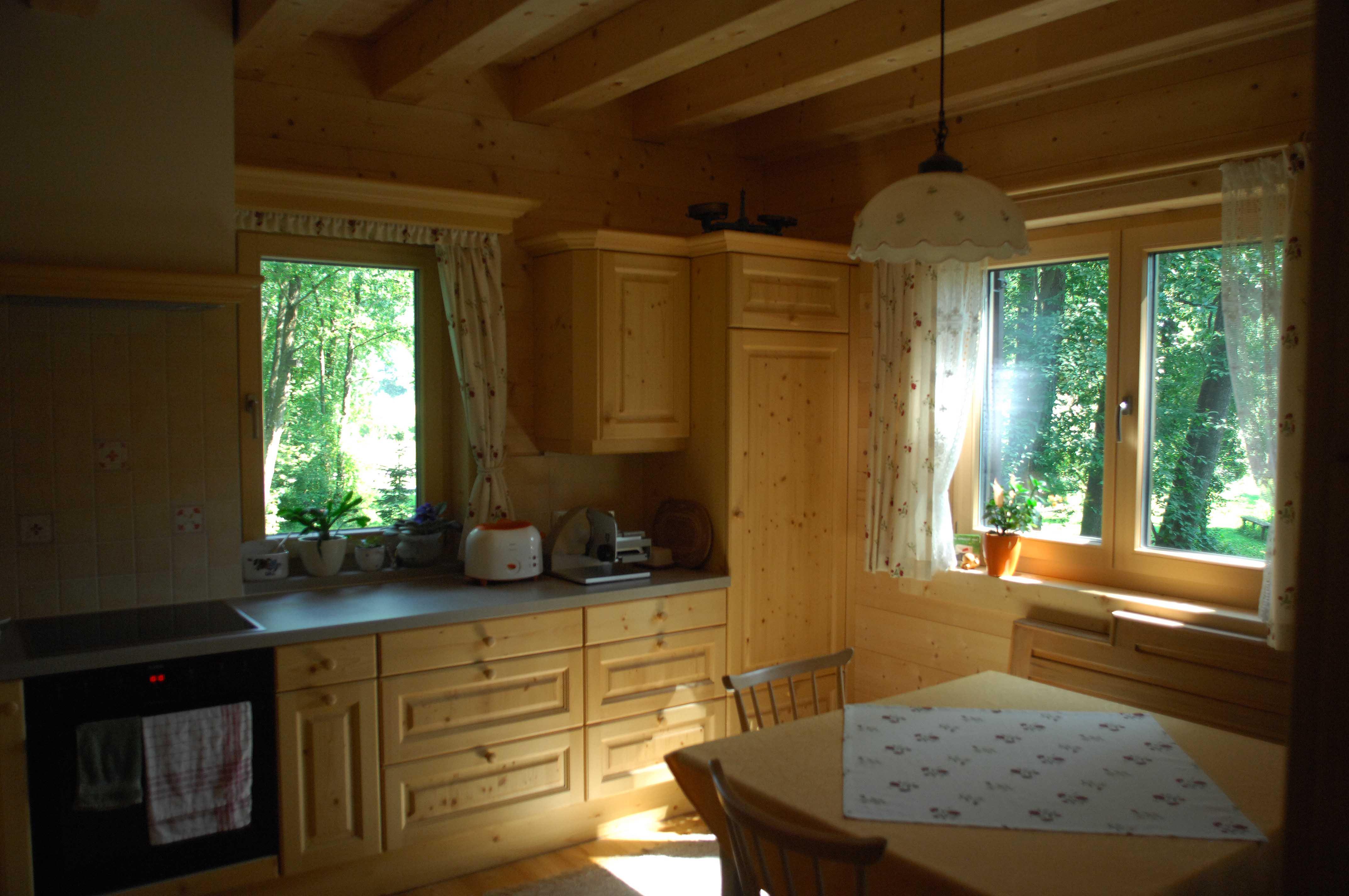 Blockhausimpressionen – die Küche – Scandinavian BLOGhaus