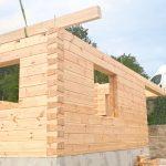 Bau mit einem 28er Massivblock